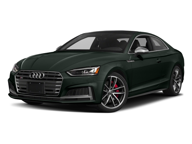 Gotland Green Metallic 2018 Audi S5 Coupe Pictures S5 Coupe 3.0 TFSI Prestige photos front view
