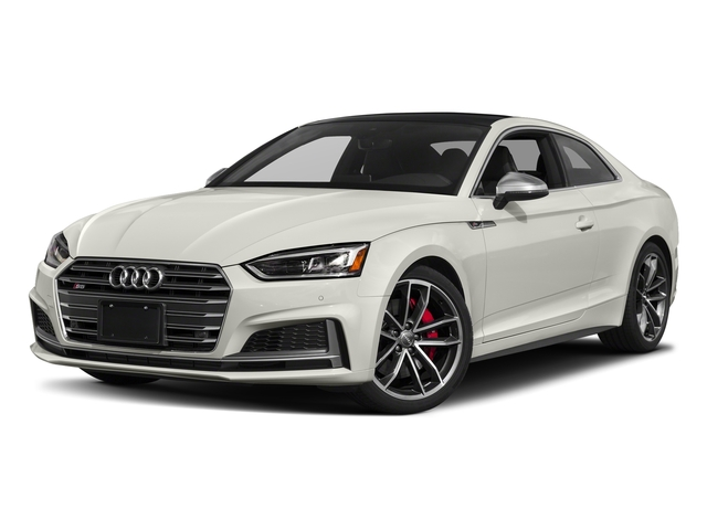 Ibis White 2018 Audi S5 Coupe Pictures S5 Coupe 3.0 TFSI Prestige photos front view