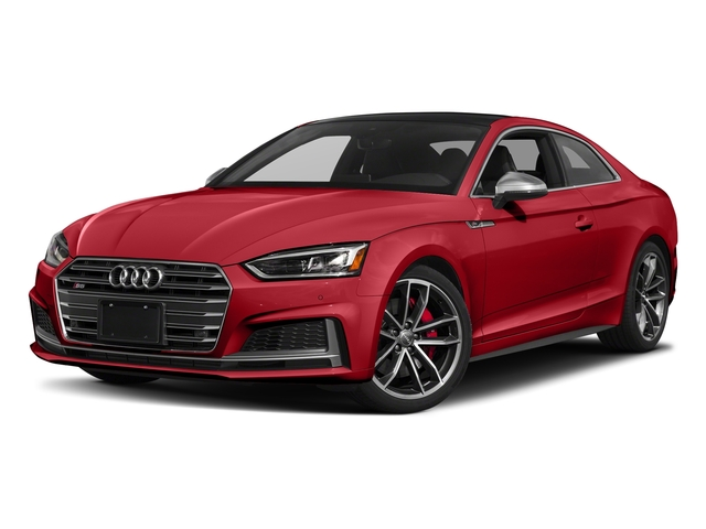 Tango Red Metallic 2018 Audi S5 Coupe Pictures S5 Coupe 3.0 TFSI Prestige photos front view