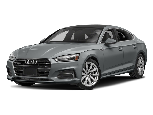 Monsoon Gray Metallic 2018 Audi A5 Sportback Pictures A5 Sportback 2.0 TFSI Premium Plus photos front view