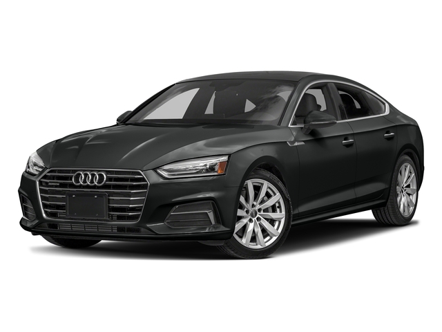 Mythos Black Metallic 2018 Audi A5 Sportback Pictures A5 Sportback 2.0 TFSI Premium Plus photos front view