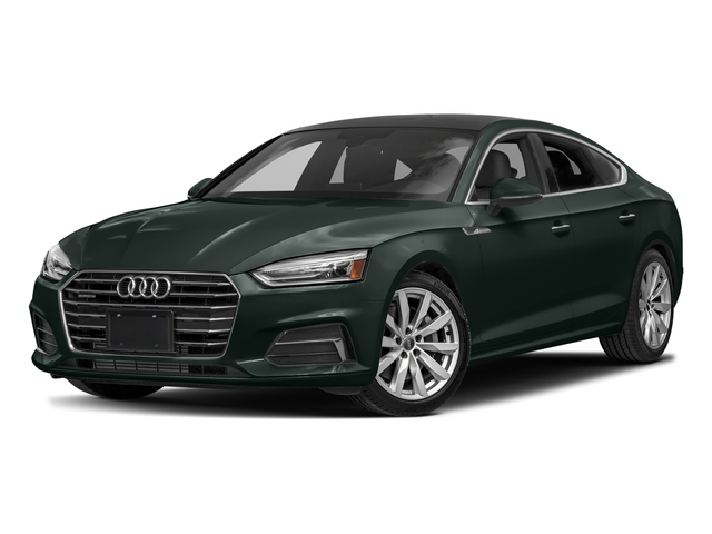 Gotland Green Metallic 2018 Audi A5 Sportback Pictures A5 Sportback 2.0 TFSI Premium Plus photos front view