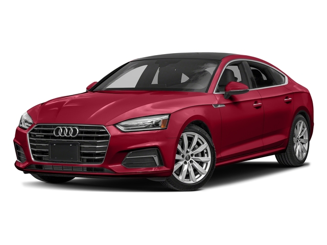 Matador Red Metallic 2018 Audi A5 Sportback Pictures A5 Sportback 2.0 TFSI Premium Plus photos front view