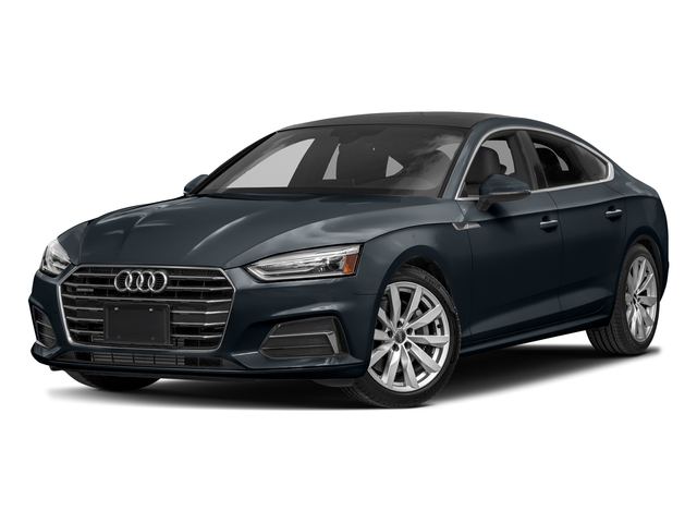 Moonlight Blue Metallic 2018 Audi A5 Sportback Pictures A5 Sportback 2.0 TFSI Premium Plus photos front view