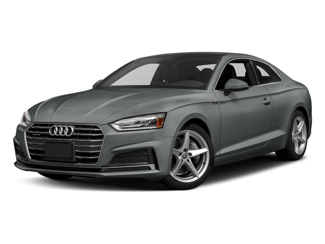 Monsoon Gray Metallic 2018 Audi A5 Coupe Pictures A5 Coupe 2.0 TFSI Prestige Manual photos front view