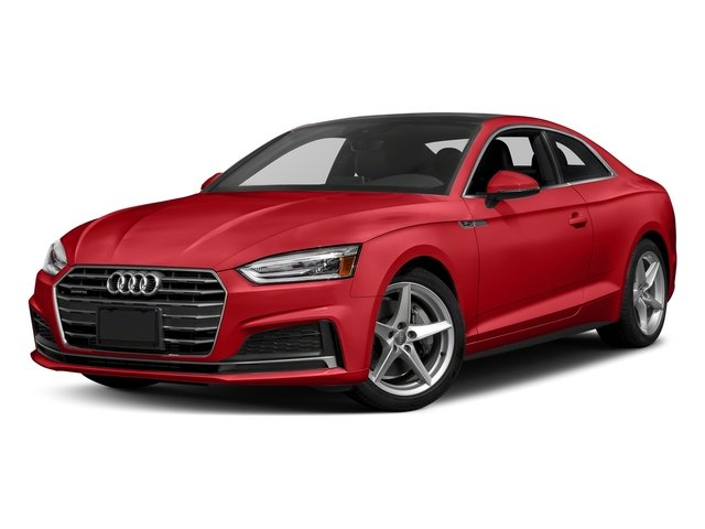 Matador Red Metallic 2018 Audi A5 Coupe Pictures A5 Coupe 2.0 TFSI Prestige Manual photos front view