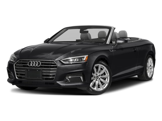 Manhattan Gray Metallic/Black Roof 2018 Audi A5 Cabriolet Pictures A5 Cabriolet 2.0 TFSI Premium photos front view