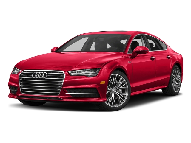Misano Red Pearl Effect 2018 Audi A7 Pictures A7 3.0 TFSI Premium Plus photos front view