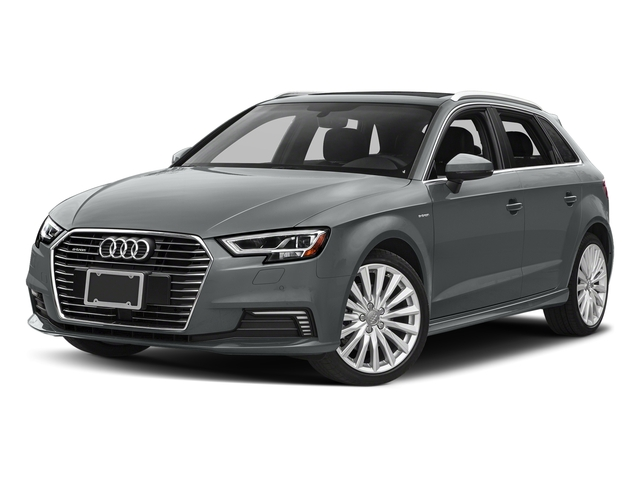 Monsoon Gray Metallic 2018 Audi A3 Sportback e-tron Pictures A3 Sportback e-tron 1.4 TFSI PHEV Premium photos front view