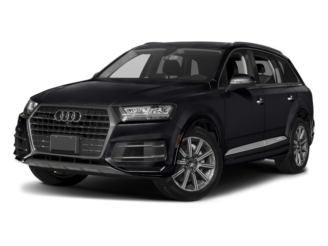 Orca Black Metallic 2018 Audi Q7 Pictures Q7 2.0 TFSI Premium Plus photos front view