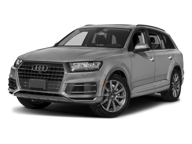 Samurai Gray Metallic 2018 Audi Q7 Pictures Q7 2.0 TFSI Premium photos front view