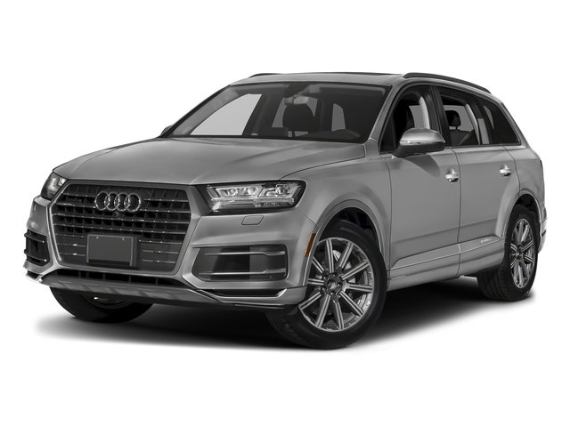 Samurai Gray Metallic 2018 Audi Q7 Pictures Q7 2.0 TFSI Premium Plus photos front view