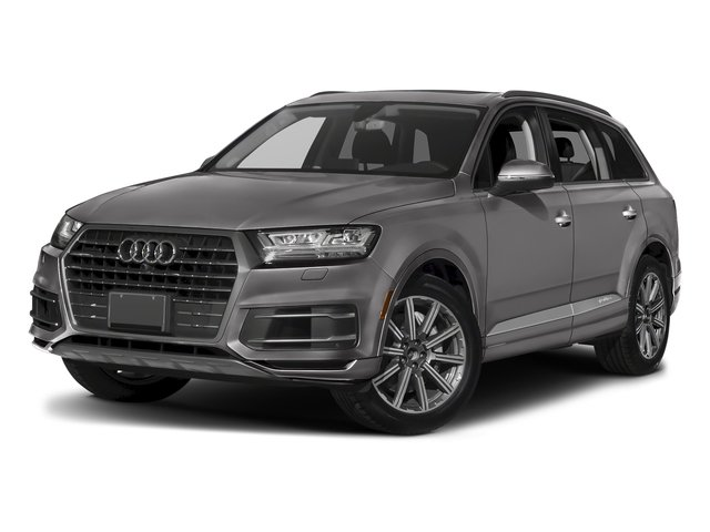 Graphite Gray Metallic 2018 Audi Q7 Pictures Q7 3.0 TFSI Prestige photos front view
