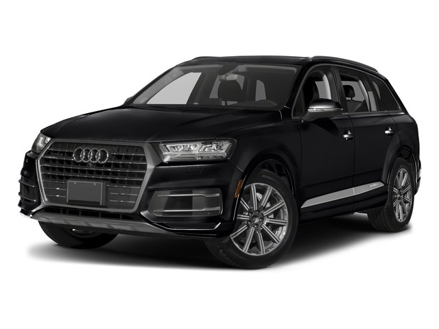 Night Black 2018 Audi Q7 Pictures Q7 2.0 TFSI Premium Plus photos front view