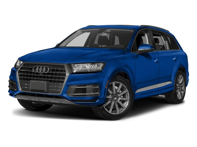 Galaxy Blue Metallic 2018 Audi Q7 Pictures Q7 2.0 TFSI Premium photos front view
