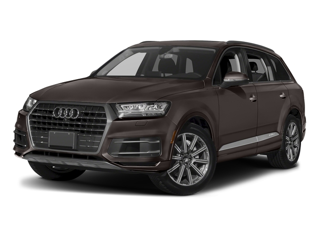 Argus Brown Metallic 2018 Audi Q7 Pictures Q7 3.0 TFSI Prestige photos front view