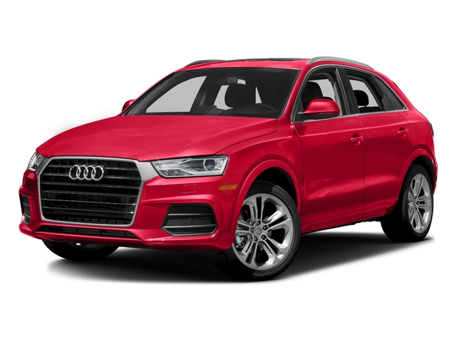 Misano Red Pearl Effect 2018 Audi Q3 Pictures Q3 2.0 TFSI Sport Premium Plus FWD photos front view