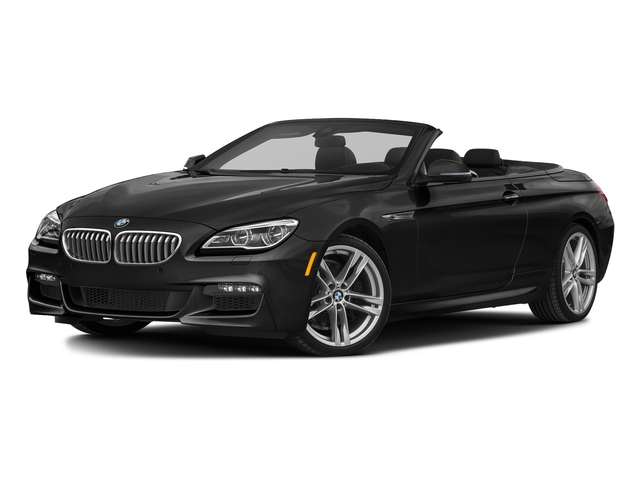 Black Sapphire Metallic 2018 BMW 6 Series Pictures 6 Series 650i xDrive Convertible photos front view