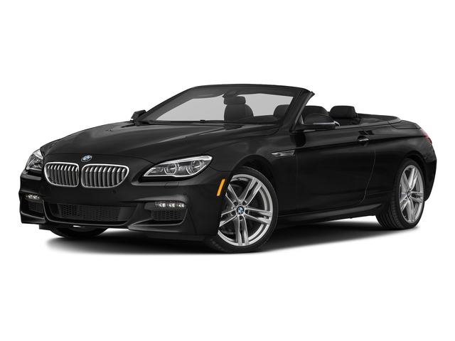 Jet Black 2018 BMW 6 Series Pictures 6 Series 650i xDrive Convertible photos front view