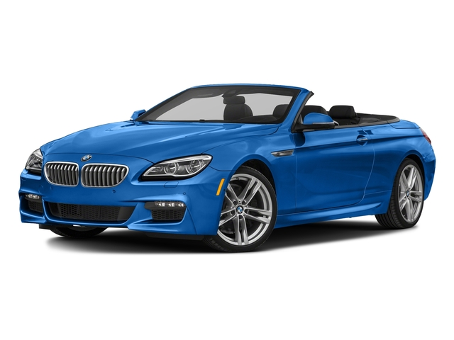 Sonic Speed Blue Metallic 2018 BMW 6 Series Pictures 6 Series 650i xDrive Convertible photos front view