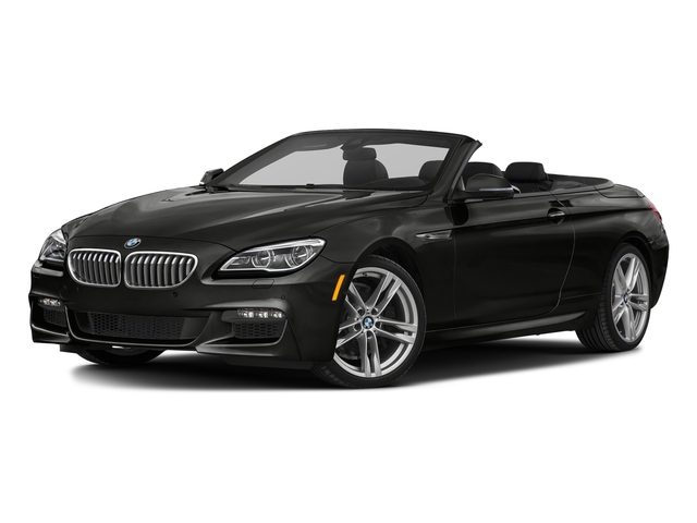 Citrin Black Metallic 2018 BMW 6 Series Pictures 6 Series 650i xDrive Convertible photos front view