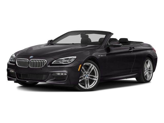 Ruby Black Metallic 2018 BMW 6 Series Pictures 6 Series 650i xDrive Convertible photos front view