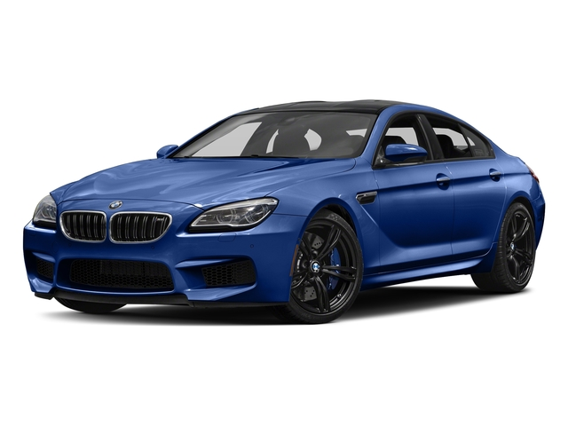 San Marino Blue Metallic 2018 BMW M6 Pictures Gran Coupe Photos Front View