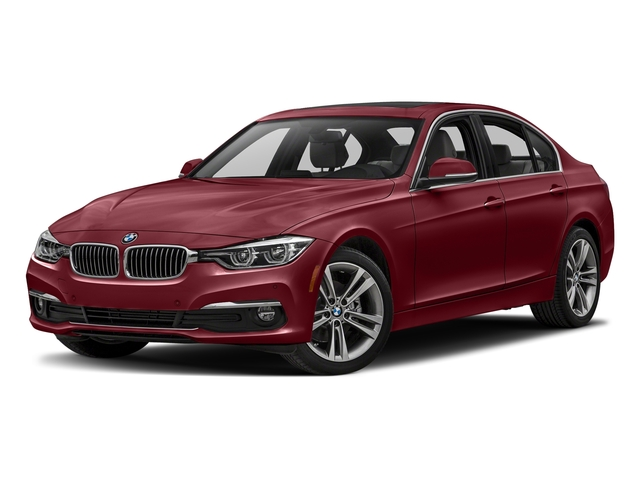Melbourne Red Metallic 2018 BMW 3 Series Pictures 3 Series Sedan 4D 328dx AWD photos front view