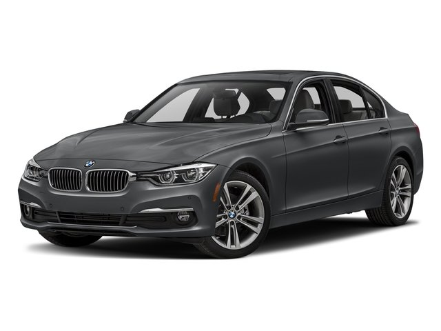 Mineral Gray Metallic 2018 BMW 3 Series Pictures 3 Series Sedan 4D 328dx AWD photos front view