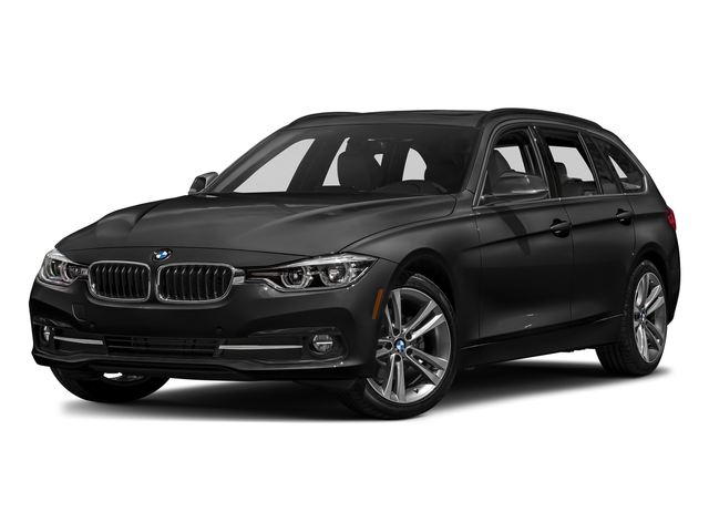 Jet Black 2018 BMW 3 Series Pictures 3 Series 328d xDrive Sports Wagon photos front view