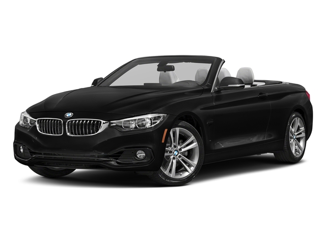Jet Black 2018 BMW 4 Series Pictures 430i Convertible Photos Front View