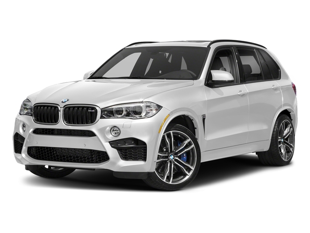 Mineral White Metallic 2018 BMW X5 M Pictures X5 M Utility 4D M AWD photos front view