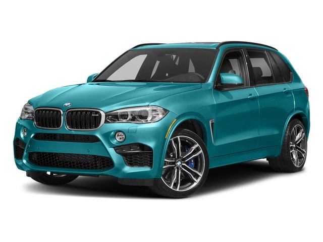 Long Beach Blue Metallic 2018 BMW X5 M Pictures X5 M Utility 4D M AWD photos front view