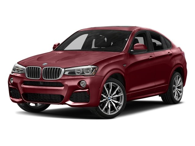Melbourne Red Metallic 2018 BMW X4 Pictures X4 M40i Sports Activity Coupe photos front view