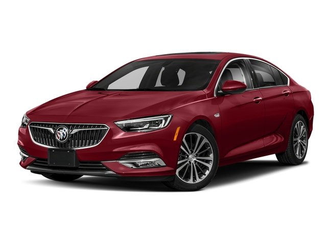 Rioja Red Metallic 2018 Buick Regal Sportback Pictures Regal Sportback 4dr Sdn Preferred II AWD photos front view