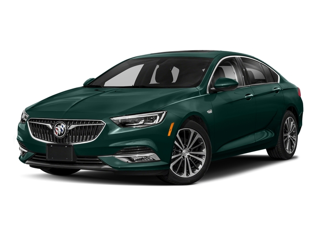 Carrageen Metallic 2018 Buick Regal Sportback Pictures Regal Sportback 4dr Sdn Preferred II FWD photos front view