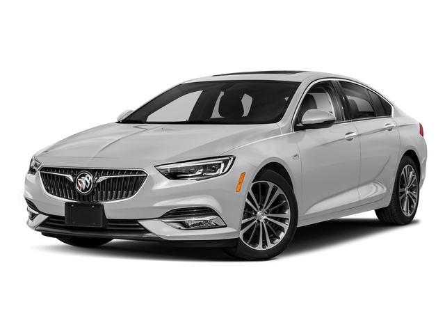 Quicksilver Metallic 2018 Buick Regal Sportback Pictures Regal Sportback 4dr Sdn GS AWD photos front view