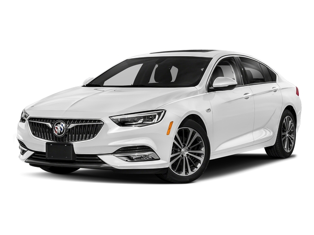 Summit White 2018 Buick Regal Sportback Pictures Regal Sportback 4dr Sdn Preferred II AWD photos front view