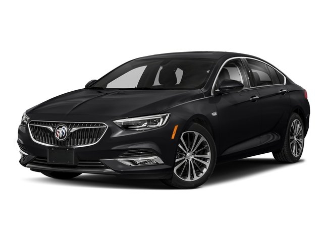 Ebony Twilight Metallic 2018 Buick Regal Sportback Pictures Regal Sportback 4dr Sdn GS AWD photos front view