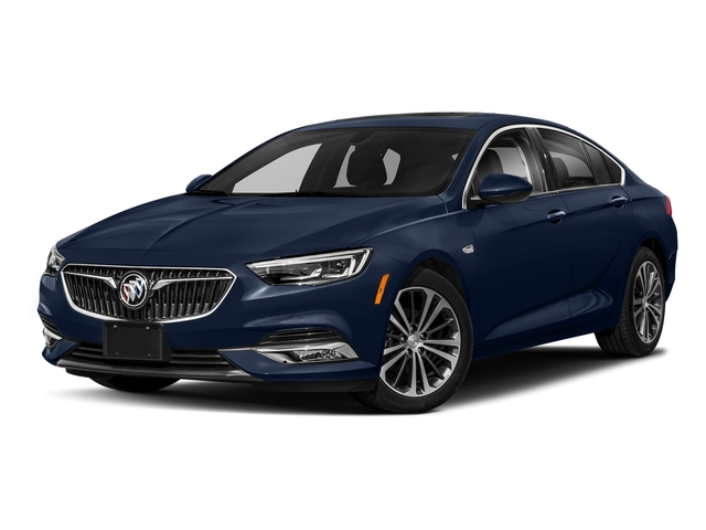 Darkmoon Blue Metallic 2018 Buick Regal Sportback Pictures Regal Sportback 4dr Sdn Preferred II FWD photos front view