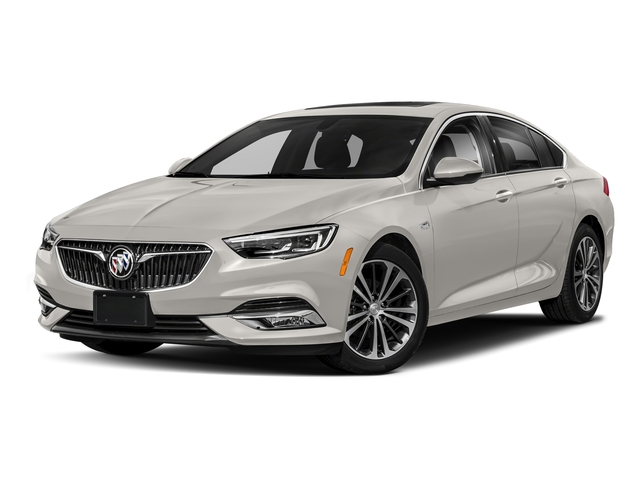 White Frost Tricoat 2018 Buick Regal Sportback Pictures Regal Sportback 4dr Sdn GS AWD photos front view
