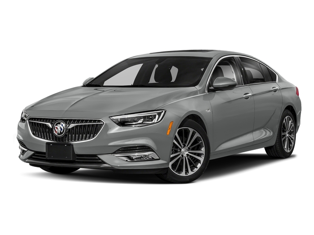 Smoked Pearl Metallic 2018 Buick Regal Sportback Pictures Regal Sportback 4dr Sdn GS AWD photos front view