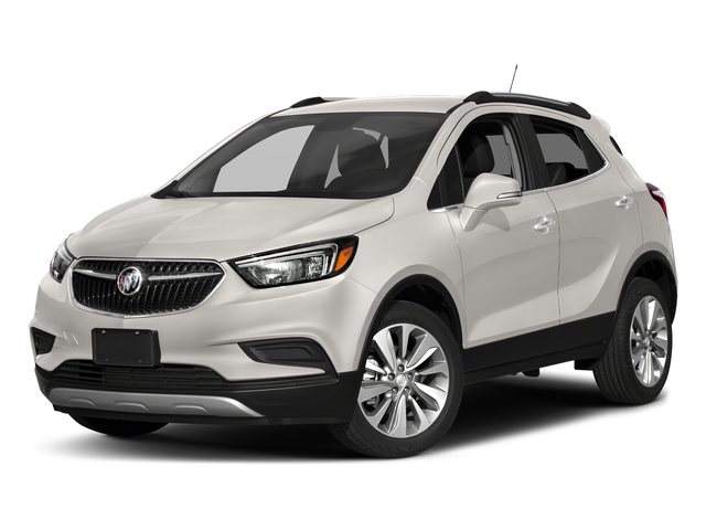 White Frost Tricoat 2018 Buick Encore Pictures Encore AWD 4dr Sport Touring photos front view