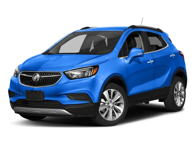 Coastal Blue Metallic 2018 Buick Encore Pictures Encore FWD 4dr photos front view