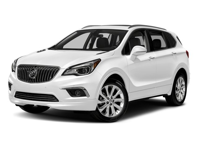 Summit White 2018 Buick Envision Pictures Envision AWD 4dr Premium II photos front view