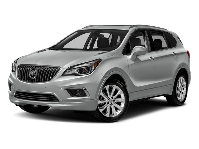 Galaxy Silver Metallic 2018 Buick Envision Pictures Envision Utility 4D Premium I AWD photos front view