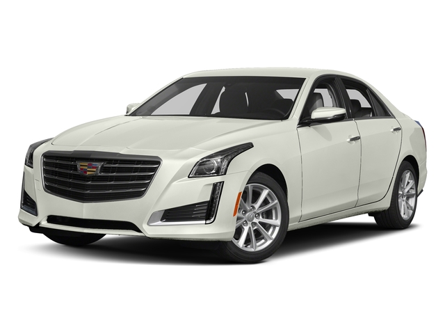 Crystal White Tricoat 2018 Cadillac CTS Sedan Pictures CTS Sedan 4D Luxury AWD V6 photos front view