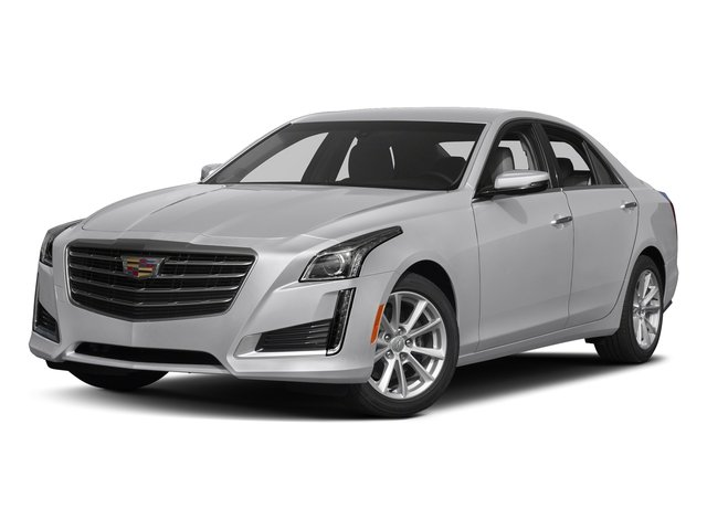 Radiant Silver Metallic 2018 Cadillac CTS Sedan Pictures CTS Sedan 4D Luxury AWD V6 photos front view