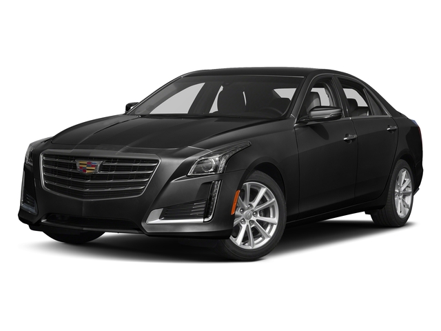 Black Raven 2018 Cadillac CTS Sedan Pictures CTS Sedan 4D Luxury AWD V6 photos front view