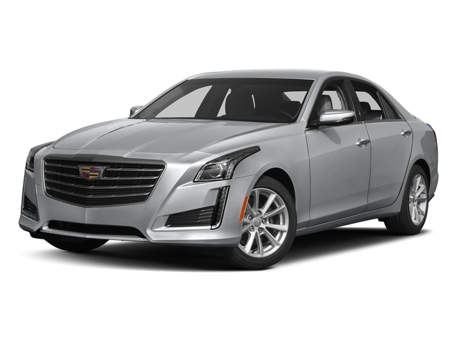 Silver Moonlight Metallic 2018 Cadillac CTS Sedan Pictures CTS Sedan 4D Luxury AWD V6 photos front view